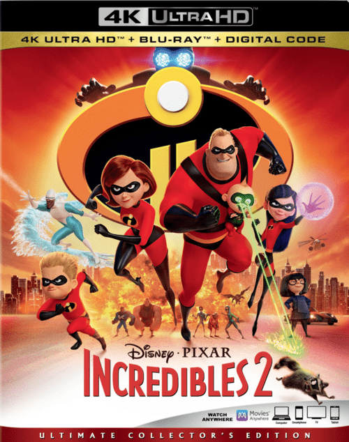 Incredibles 2 4K 2018 Ultra HD 2160p