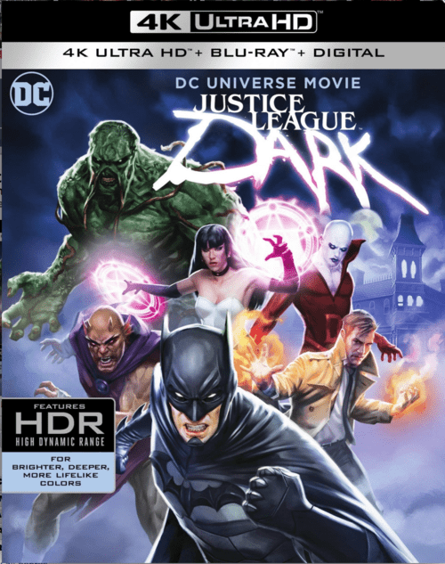 Justice League Dark 4K 2017 Ultra HD 2160p
