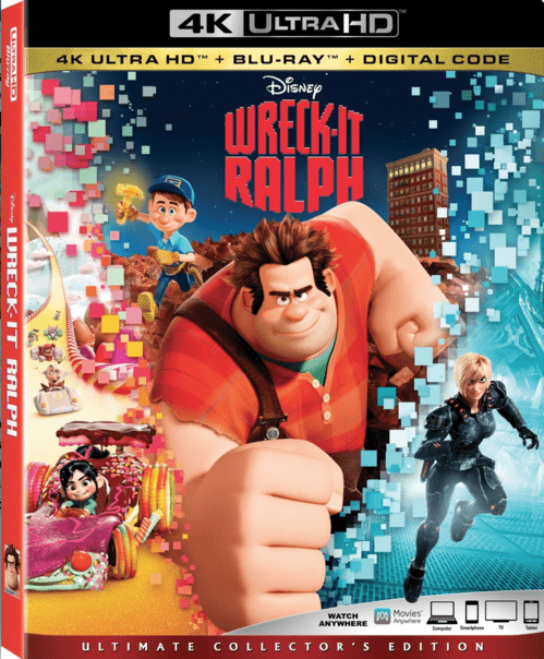 Wreck-It Ralph 4K 2012 Ultra HD 2160p