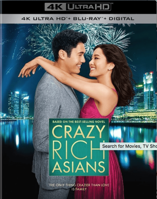 Crazy Rich Asians 4K 2018 Ultra HD 2160p