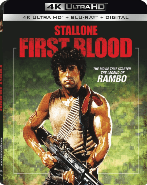 Rambo First Blood 4K 1982 Ultra HD 2160p