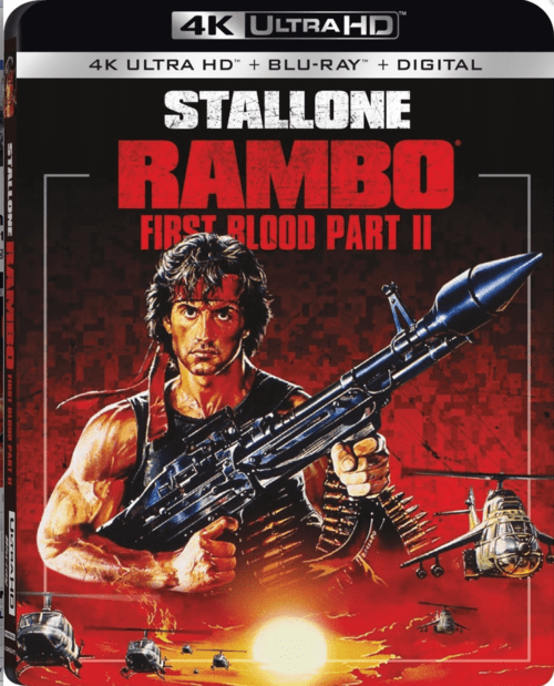 Rambo: First Blood Part II 4K 1985 Ultra HD 2160p