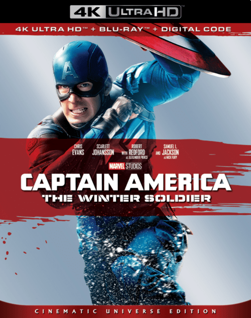 Captain America The Winter Soldier 4K 2014 Ultra HD 2160p
