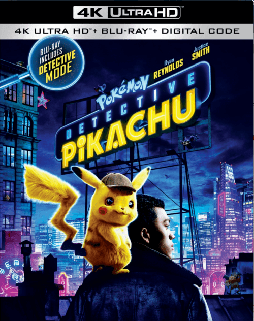 Pokemon Detective Pikachu 4K 2019 Ultra HD 2160p