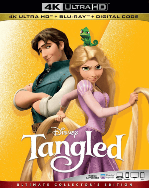 Tangled 4K 2010 Ultra HD 2160p