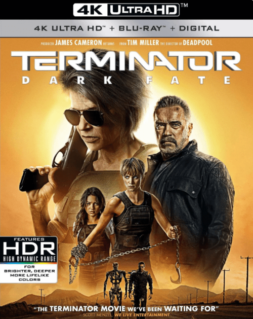 Terminator: Dark Fate 4K 2019 Ultra HD 2160p