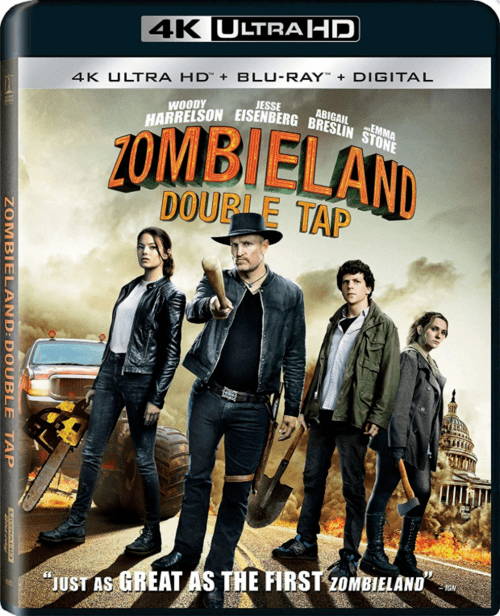 Zombieland Double Tap 4K 2019 Ultra HD 2160p