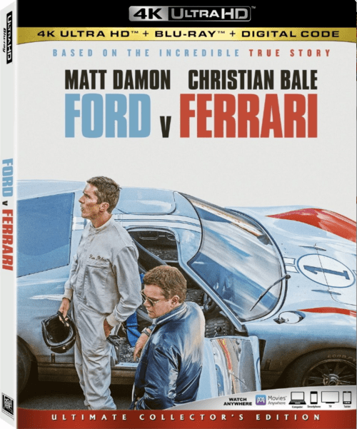 Ford v Ferrari 4K 2019 Ultra HD 2160p