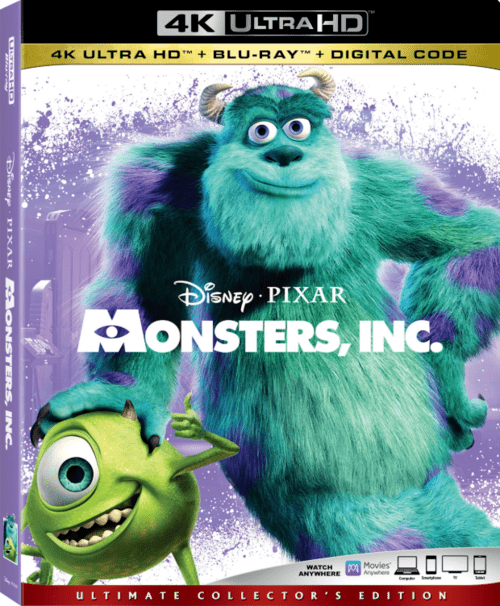 Monsters Inc 4K 2001 Ultra HD 2160p