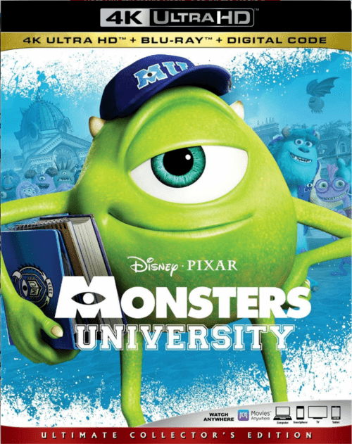 Monsters University 4K 2013 Ultra HD 2160p
