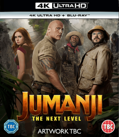 Jumanji The Next Level 4K 2019 Ultra HD 2160p