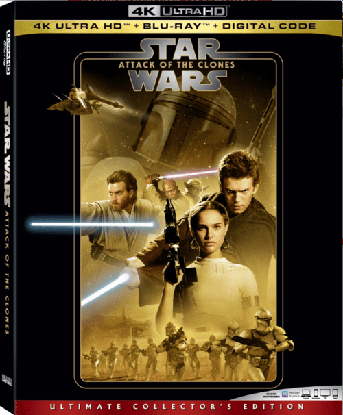 Star Wars Episode II Attack Of The Clones 4K 2002 Ultra HD 2160p
