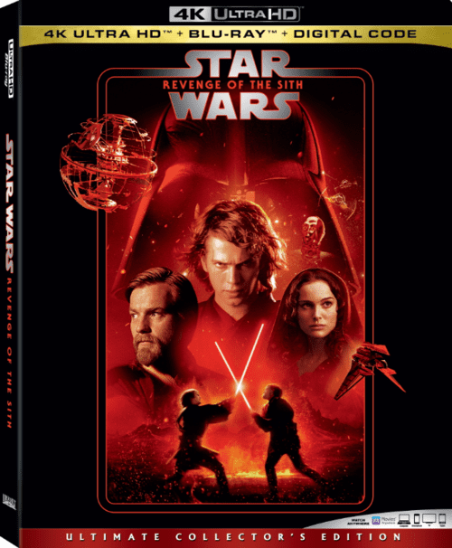 Star Wars Episode III Revenge of the Sith 4K 2005 Ultra HD 2160p