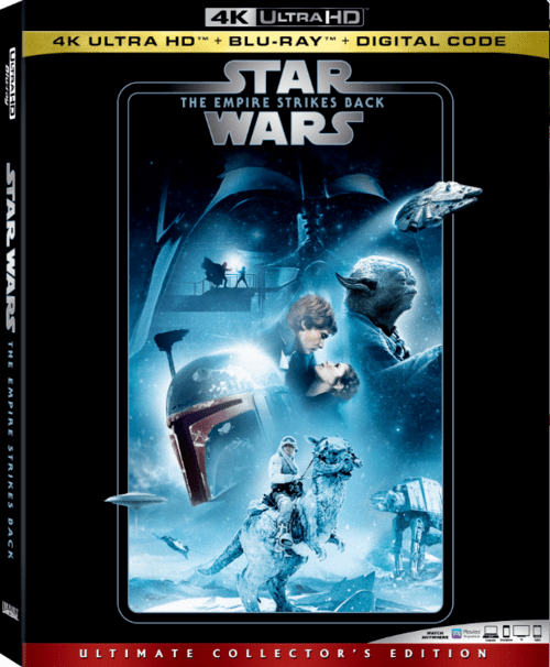 Star Wars Episode V The Empire Strikes Back 4K 1980 Ultra HD 2160p
