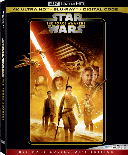 Star Wars Episode VII The Force Awakens 4K 2015 Ultra HD 2160p