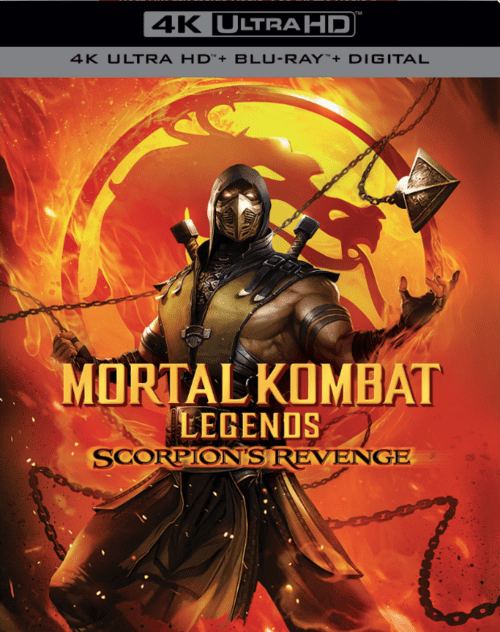 Mortal Kombat Legends Scorpions Revenge 4K 2020 Ultra HD 2160p