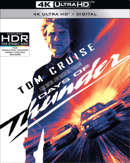 Days of Thunder 4K 1990 Ultra HD 2160p