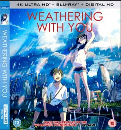 Weathering with You 4K 2019 JAPANESE Ultra HD 2160p