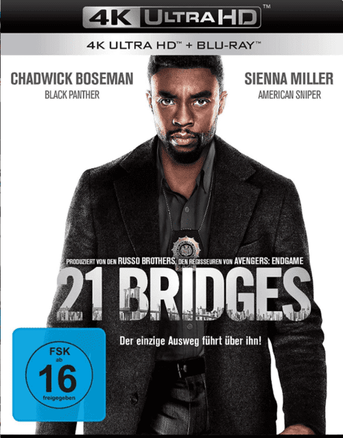 21 Bridges 4K 2019 Ultra HD 2160p