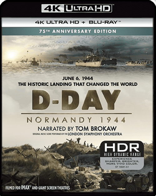 D-Day Normandy 1944 4K 2014 DOCU Ultra HD 2160p