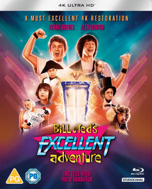 Bill and Teds Excellent Adventure 4K 1989 Ultra HD 2160p