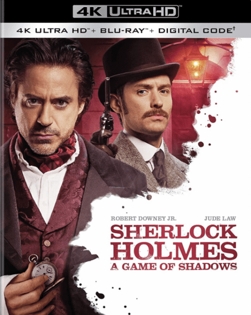 Sherlock Holmes A Game of Shadows 4K 2011 Ultra HD 2160p