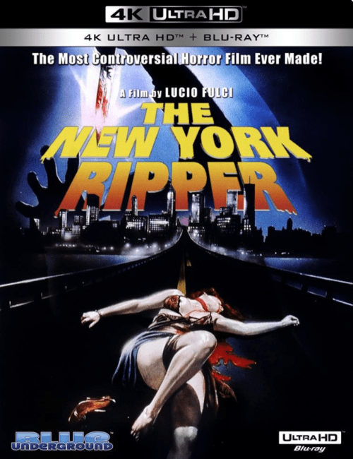 The New York Ripper 4K 1982 Ultra HD 2160p