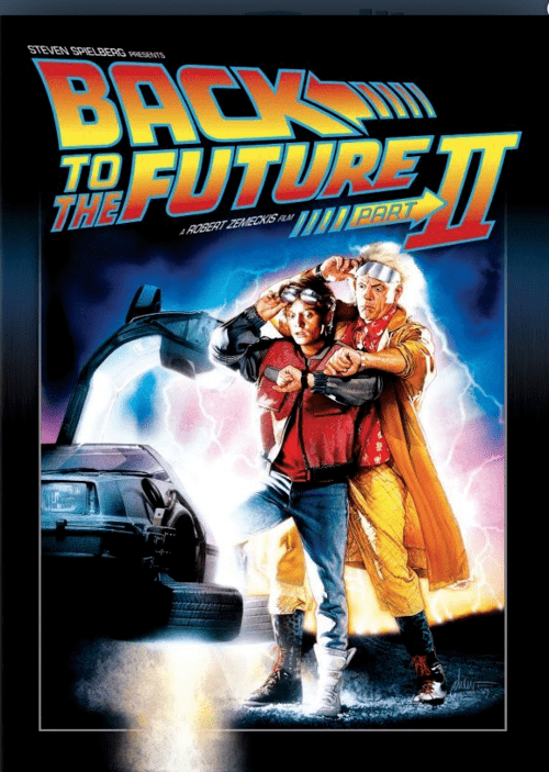 Back to the Future Part II 4K 1989 Ultra HD 2160p