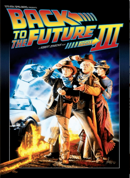 Back to the Future Part III 4K 1990 Ultra HD 2160p