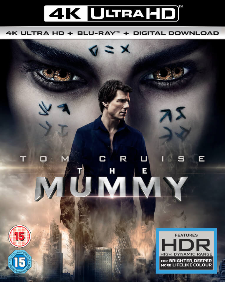 The Mummy 4K 2017 Ultra HD 2160p