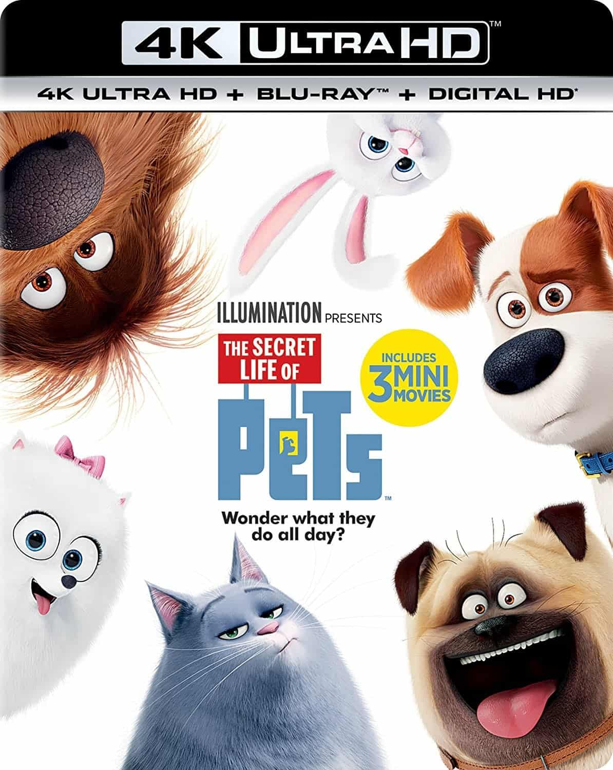The Secret Life of Pets 4K 2016 Ultra HD 2160p