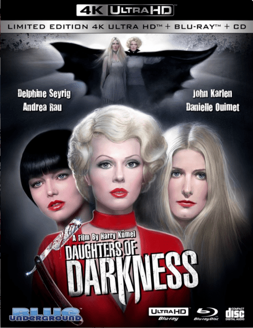 Daughters of Darkness 4K 1971 Ultra HD 2160p
