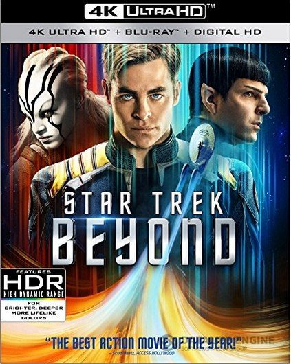 Star Trek Beyond 4K 2016 Ultra HD 2160p