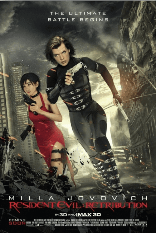 Resident Evil Retribution 4K 2012 Ultra HD 2160p