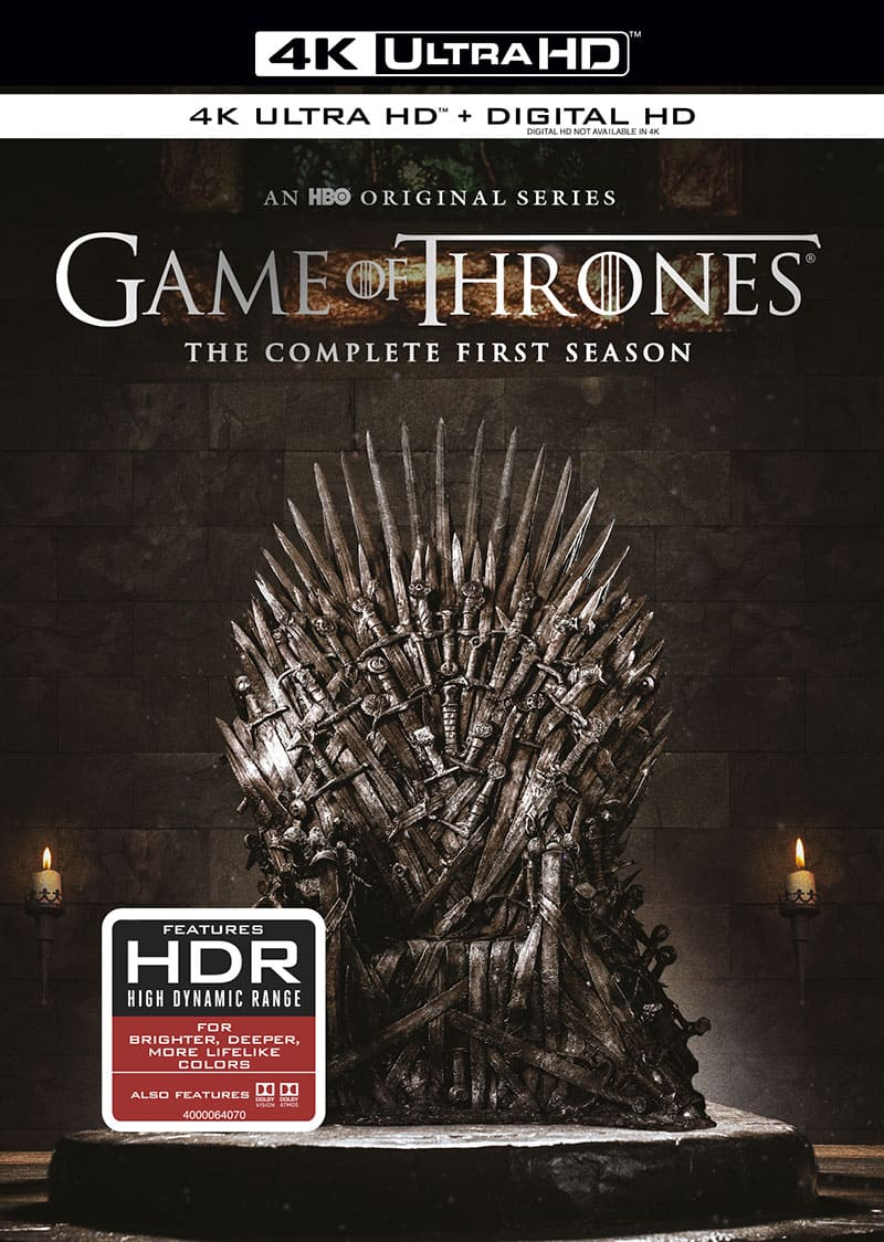 Game of Thrones Season 1 4K 2011 Ultra HD 2160p