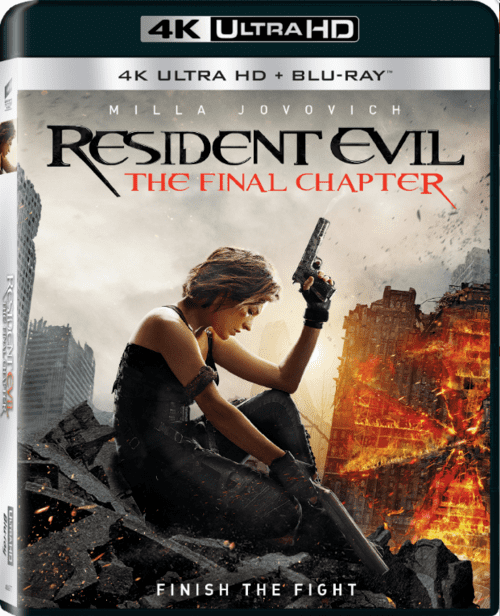 Resident Evil: The Final Chapter 4K 2016 Ultra HD 2160p
