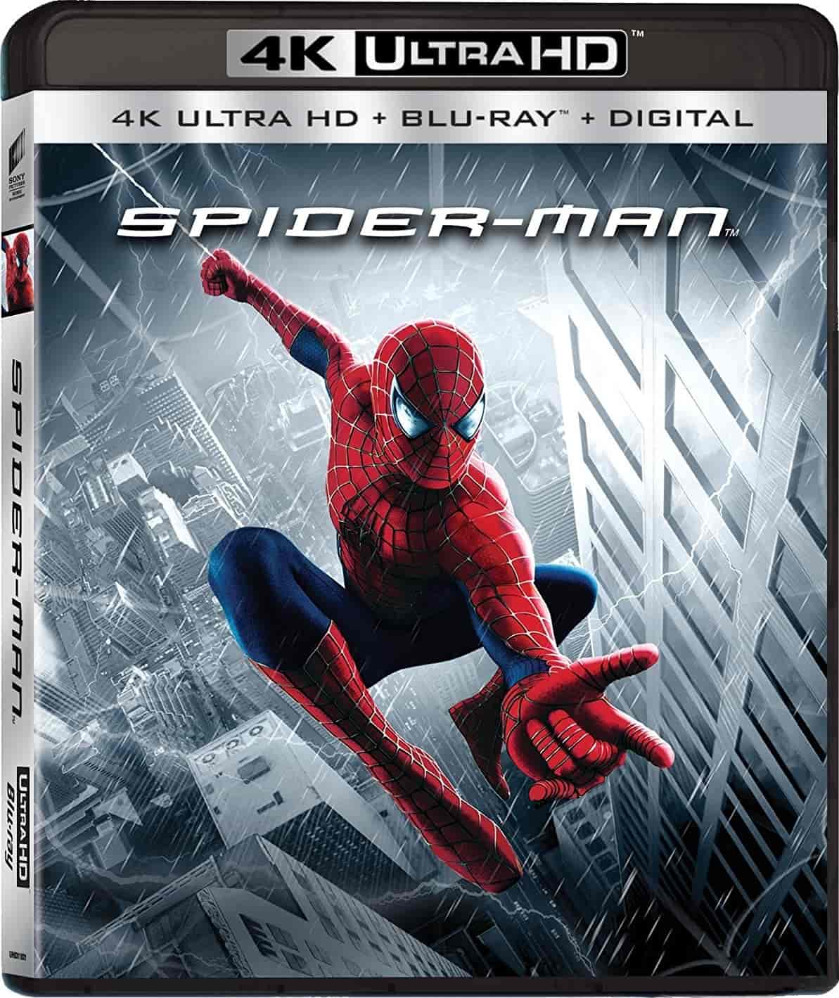 Spider-Man 4K 2002 Ultra HD 2160p