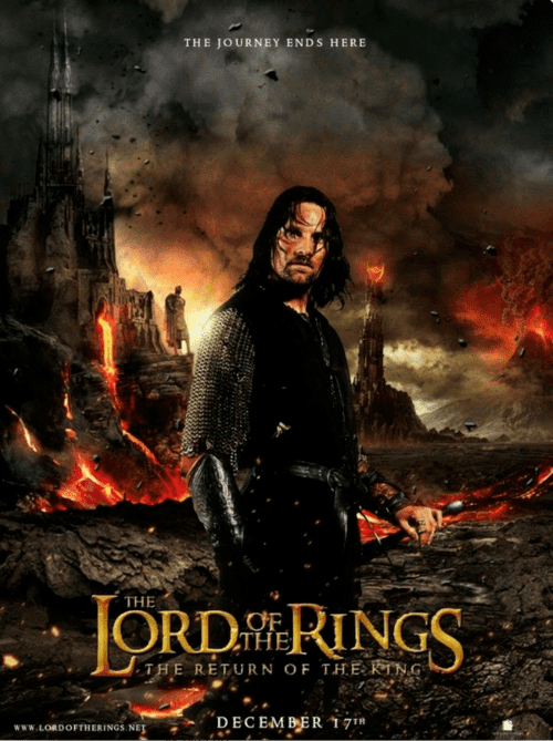 The Lord of the Rings The Return Of The King 4K 2003 EXTENDED Ultra HD 2160p