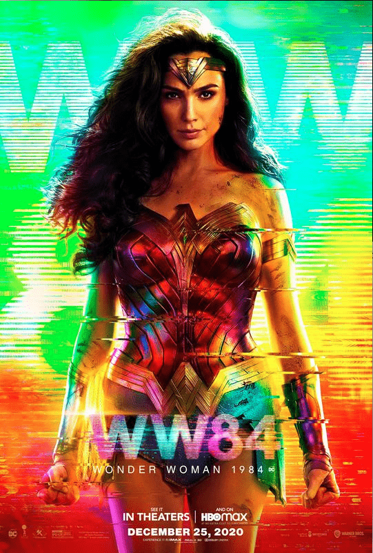 Wonder Woman 4K 1984 2020 IMAX Ultra HD 2160p
