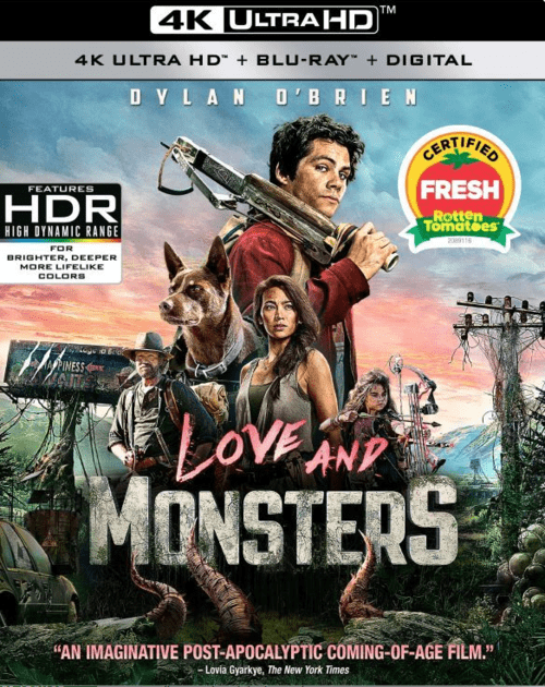 Love and Monsters 4K 2020 Ultra HD 2160p