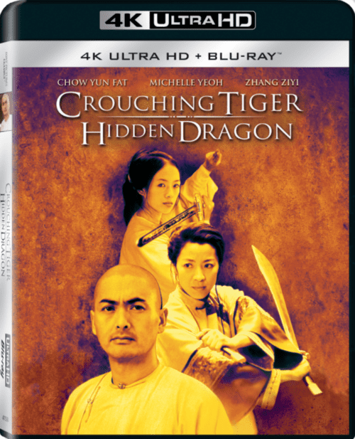 Crouching Tiger Hidden Dragon 4K 2000 CHINESE Ultra HD 2160p