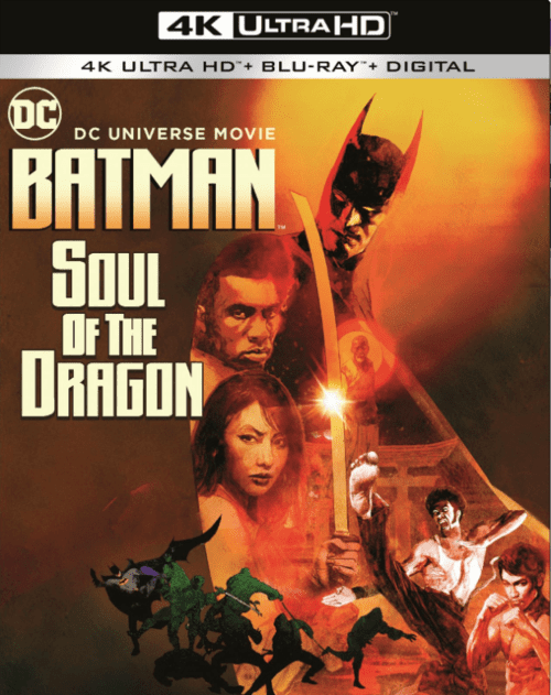 Batman Soul of the Dragon 4K 2021 Ultra HD 2160p