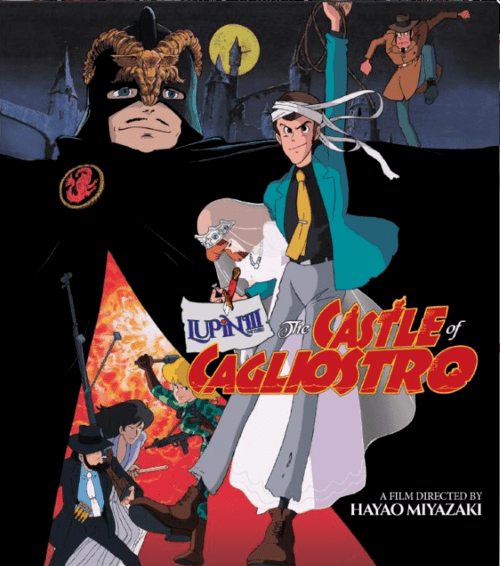 The Castle of Cagliostro 4K 1979 JAPANESE Ultra HD 2160p