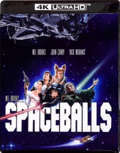 Spaceballs 4K 1987 Ultra HD 2160p